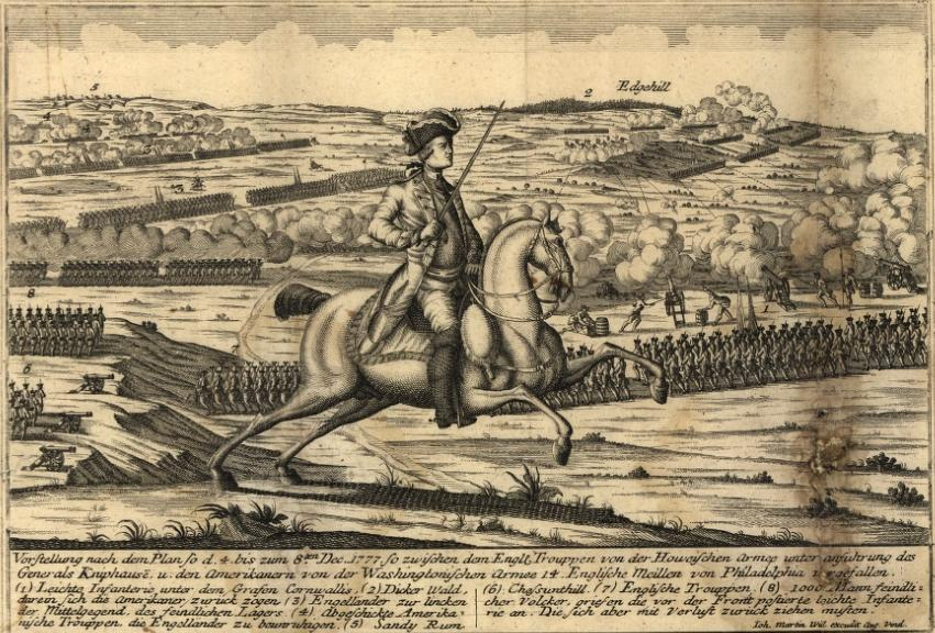 Battle of whitemarsh view