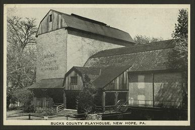 Bucks County Playhouse 1934